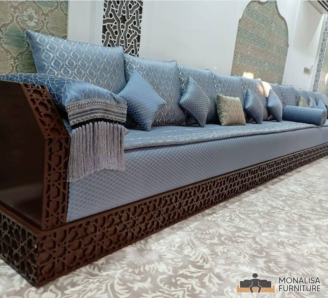 Moroccan Jalsa Wooden Brown
