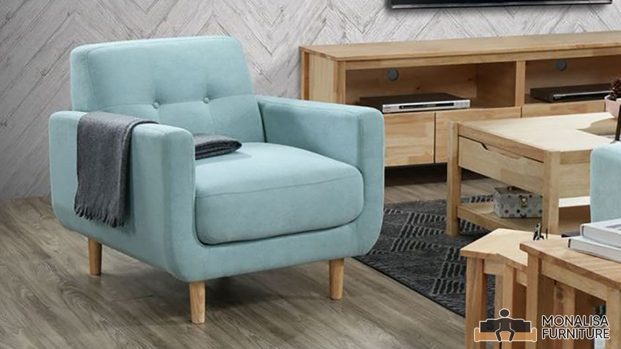 Bella Sofa Set Cyan (3+2+1)